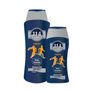 Amatoury 114 Men Shower Gel Sports for Body & Hair