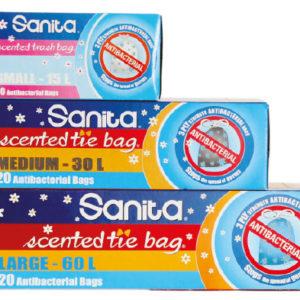 Sanita Tie Bag Antibacterial