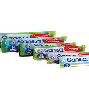 Sanita Biodegradable Trash Bags