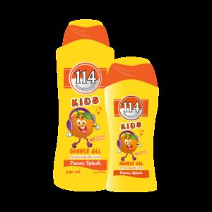 Amatoury 114 Kids Funny Splash Shower Gel – Color & Paraben free