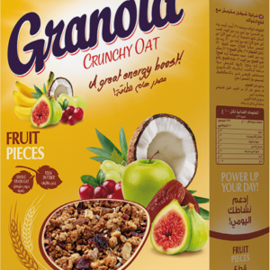 Poppins Granola Crunchy Oat Fruit Pieces