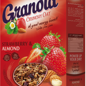 Poppins Granola Crunchy Oat Strawberry & Almond