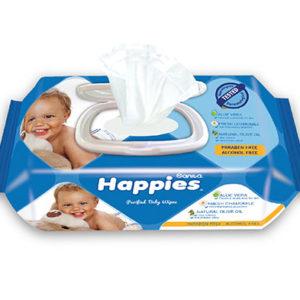Sanita Happies Wet Wipes Lotion