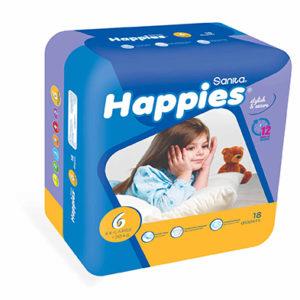 Sanita Happies Diapers