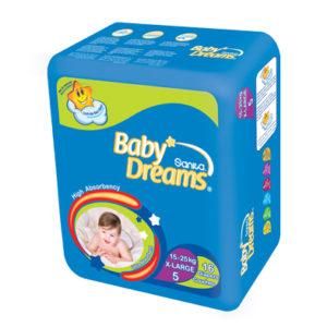 Sanita Baby Dreams Diapers