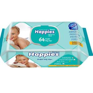Sanita Happies Protective Cream Wet Wipes