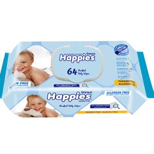 Sanita Happies Sensitive Wet Wipes