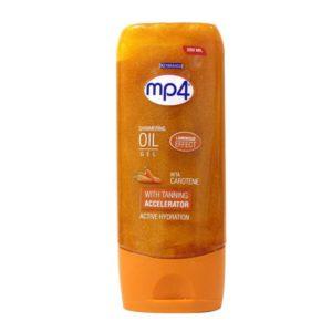 MP4 Tanning Oil Shimmering Oil Gel Beta Carotene