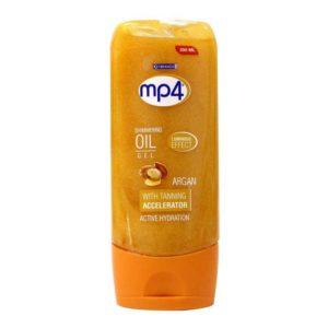 MP4 Tanning Oil Shimmering Oil Gel Argan