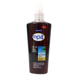 MP4 Tanning Oil Dry Sun Oil Tahiti