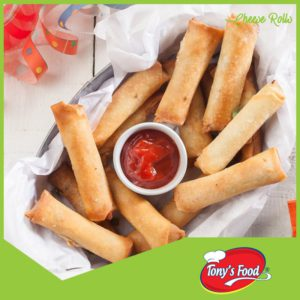 Tony's Food Cheese Rolls