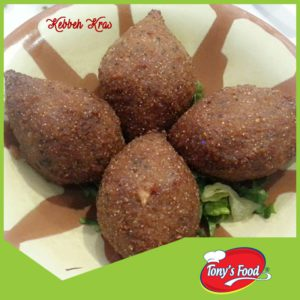 Tony's Food Kebbeh Kras