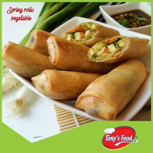 Tony's Food Spring Rolls Vegetable
