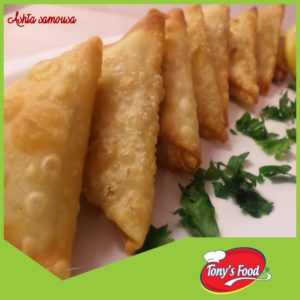 Tony's Food Ashta Samousa