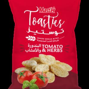 Master Toasties Tomato and Herbs