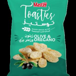 Master Toasties Olive and Oregano