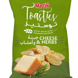 Master Toasties Cheese and Herbs