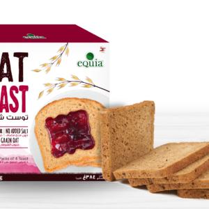 Equia Oats toast