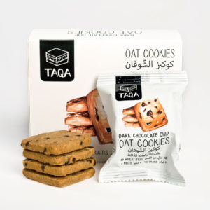 Taqa Oat Dark Chocolate Chip Cookie