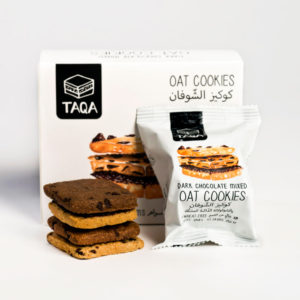 Taqa Oat Dark Chocolate Cookies Mixed