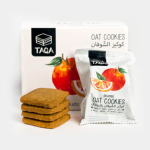 Taqa Oat Orange Cookies