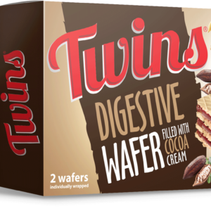 Twins Digestive Wafer filled with Cocoa cream