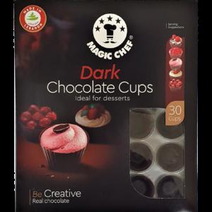 Magic Chef Dark Chocolate Cups