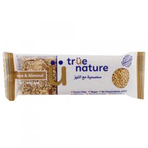 True Nature Organic Sesame & Almonds Bar