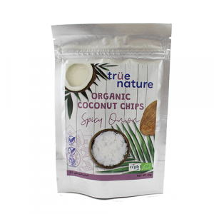 True Nature Organic Spicy Onion Coconut Chips