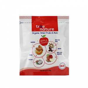 True Nature Organic Trail Mixed Apple Cinnamon