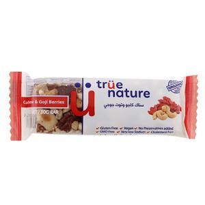 True Nature Organic Cashew & Goji Bar