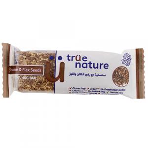 True Nature Organic Sesame & Flaxseed Bar