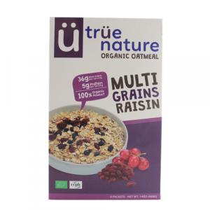 True Nature Organic Oat Meal Multigrains Raisins
