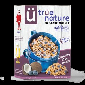 True Nature Blueberry Chia Muesli