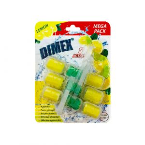 Dimex Mega Toilet Blocks Lemon
